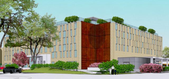 Détails du plan de la nouvelle école secondaire Azrieli Herzliah que nous projetons d'ouvrir à Montréal, Qc  pour l'année scolaire 2017-2018 (Groupe CNW/Azrieli Foundation)