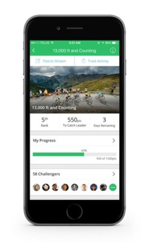 Sprout's mobile wellness app. (CNW Group/Sprout)