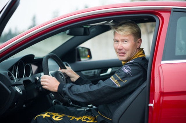 Mika Häkkinen, Johnnie Walker Global Responsible Drinking Ambassador and two-time F1 World Champion (CNW Group/Diageo Canada)