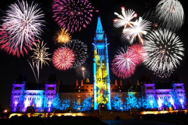 La célébration de la fête du Canada à Ottawa est l'un des nombreux événements de l'été  qui attirent des voyageurs du monde entier (Groupe CNW/Hotels.com)