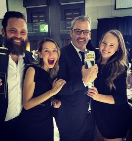 ZINC Developments Takes Top Prize at The BILD Awards (CNW Group/The Brand Factory)