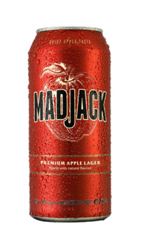 Mad Jack 473mL cans will begin rolling out across Canada in April 2015. (CNW Group/Molson Coors Canada)