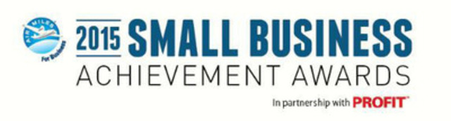 AIR MILES for Business celebrates Canada's outstanding entrepreneurs at the 2015 Small Business Achievement Awards (CNW Group/AIR MILES Reward Program)