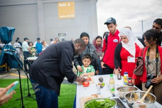 Demonstrations from professional Chefs (CNW Group/Halal Food Fest TO)