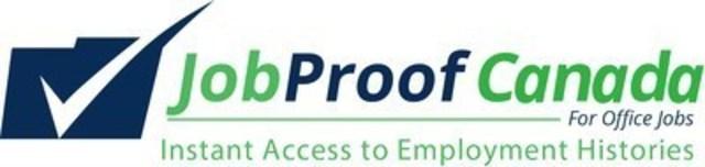 JobProof.com: Database of Anonymous Job Seekers (CNW Group/Job Proof Canada)