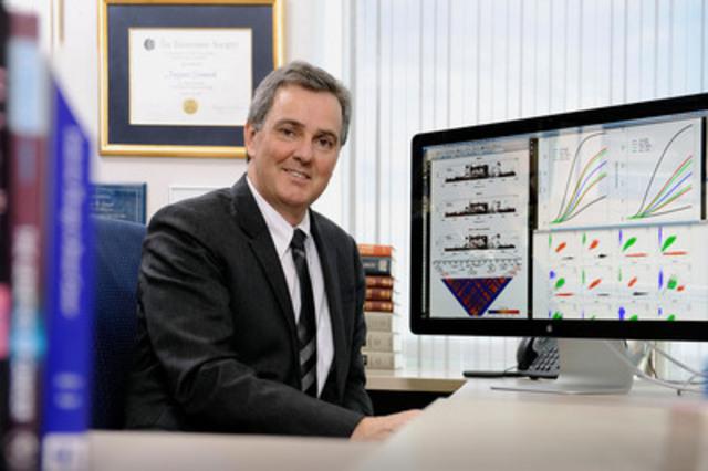 Jacques Simard, professeur à la faculté de médecine de l'Université Laval et chercheur au CHU de Québec (Groupe CNW/Génome Québec)