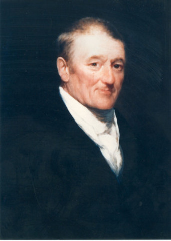 An original portrait of John Molson dated from 1811 (CNW Group/MOLSON COORS CANADA)