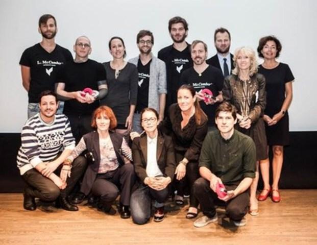 Ville de Montréal announces the winners of the Prix Frédéric-Metz : Boulangerie Guillaume, L. McComber liée architcts and l'Atelier Chinotto (CNW Group/Ville de Montréal - Cabinet du maire et du comité exécutif)