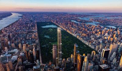 شركة التطوير العقاري إكستيل تكمل صفقة تمويل بقيمة 1.35 مليار دولار لبرج سنترال بارك، أعلى مبنى سكني في العالم