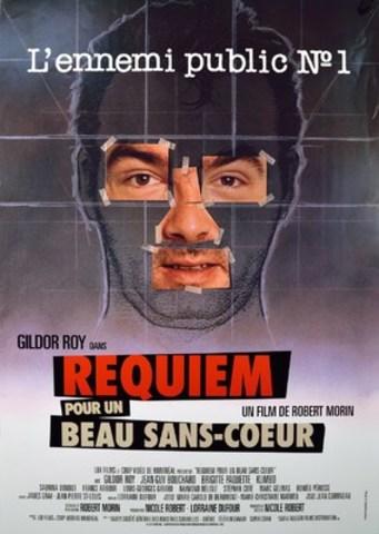 Affiche de Requiem pour un beau sans-cœoeur, un film de Robert Morin mettant en vedette Gildor Roy, restauré par Éléphant : mémoire du cinéma québécois (Groupe CNW/Québecor)