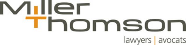 Logo Miller Thomson. (Groupe CNW/Miller Thomson LLP)