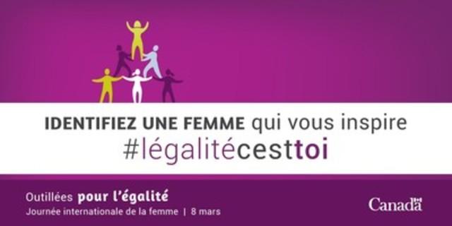Célébrons la Journée internationale de la femme (Groupe CNW/Condition féminine Canada)