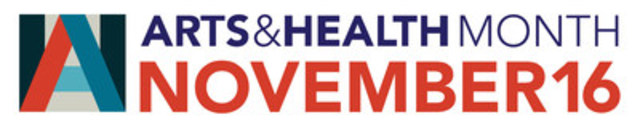 Arts & Health Month Logo (CNW Group/Arts Health Network Canada)