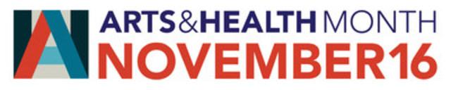 Arts & Health Month Logo (CNW Group/Arts Health Network Canada)