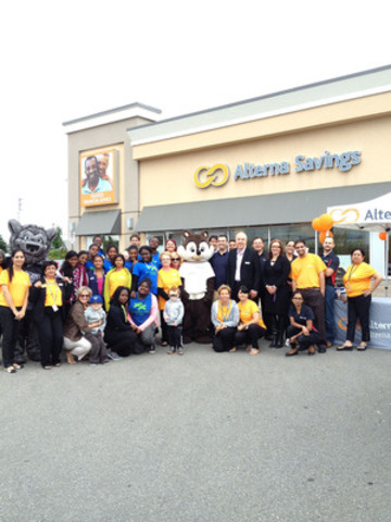 Representatives from Boys and Girls Clubs of Canada joined Alterna Savings' Bramalea Community Banking ...