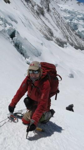 Monique Richard relève le défi du K2 (8611m) (Groupe CNW/Monique Richard)