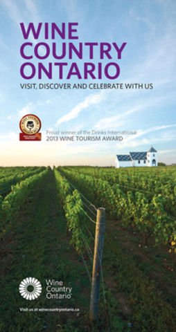 Wine Country Ontario Wine Tourism Award Advertisement 2013 (CNW Group/Wine Country Ontario)
