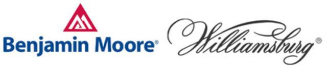 La collection de couleurs WILLIAMSBURG(MD) de Benjamin Moore est maintenant offerte sous forme de peinture Aura, Regal Select et Advance de Benjamin Moore (Groupe CNW/Benjamin Moore)