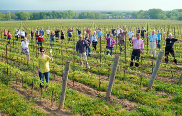 Fifty winemakers and chardonnay lovers toast the world's most planted grape this morning in honour of ...