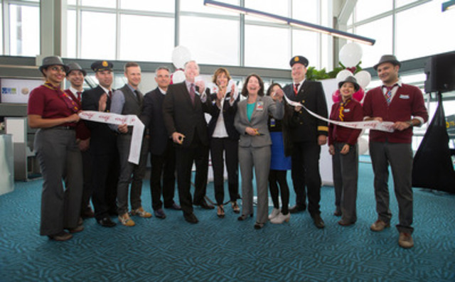 YVR welcomes Air Canada rouge to Western Canada; Air Canada rouge launches April 28 with 6 routes to popular vacation destination in the US from Vancouver and Calgary (CNW Group/Air Canada rouge)