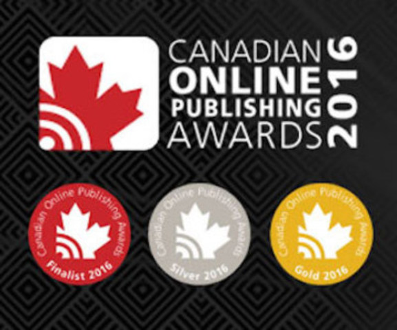 Logo: Canadian Online Publishing Awards (CNW Group/Canadian Online Publishing Awards (COPA))
