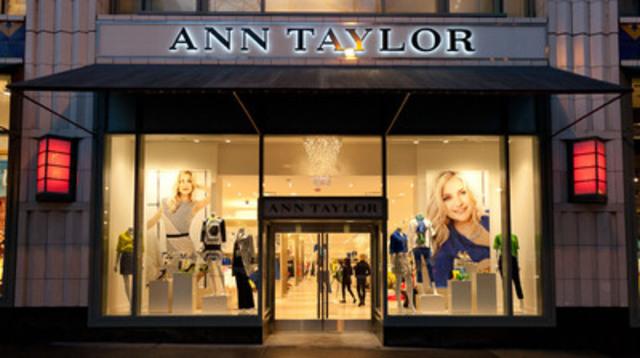 Ann Taylor Exterior (CNW Group/Ann Taylor)