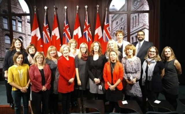 MPP France Gelinas introduces Private Members' Bill to recognize Ontario Nurse Practitioners and makes key recommendations to aid Ministry in strengthening the health care system. (CNW Group/Nurse Practitioners' Association of Ontario)