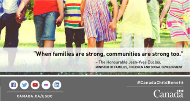 Family holding hands (CNW Group/Employment and Social Development Canada)
