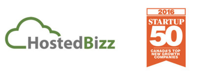 HostedBizz named among the top Start Up 50 Performers as part of Canadian Business and Profit Magazine's Annual Profit 500 Ranking of Canada's Fastest-Growing Companies (CNW Group/HostedBizz)