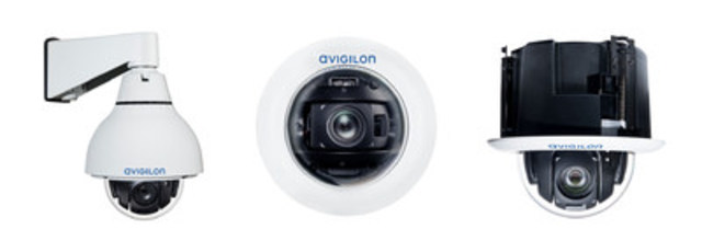 Figure 1. H4 PTZ camera line (CNW Group/Avigilon Corporation)