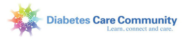 Logo for Diabetes Care Community. Learn, connect and care. ANNOUNCING www.diabetescarecommunity.ca : CANADA'S FIRST SOCIAL NETWORK AND ONLINE RESOURCE FOR FAMILIES AND FRIENDS OF PEOPLE WITH DIABETES (CNW Group/Diabetes Care Community)