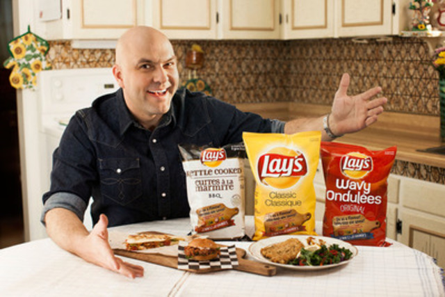 Food explorer James Cunningham launches the second annual Lay's Do Us a Flavour contest (CNW Group/PepsiCo ...