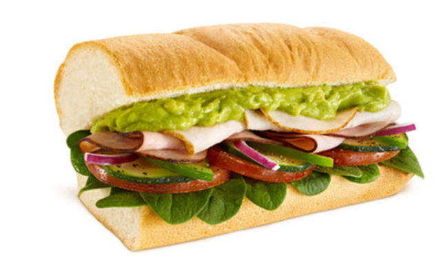 Spinach and avocado are back for a limited time at SUBWAYR Restaurants. (CNW Group/SUBWAY RESTAURANTS)