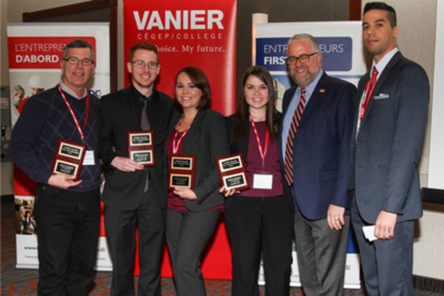 2014 Vanier College BDC Case Challenge Gold Winners (CNW Group/Business Development Bank of Canada)