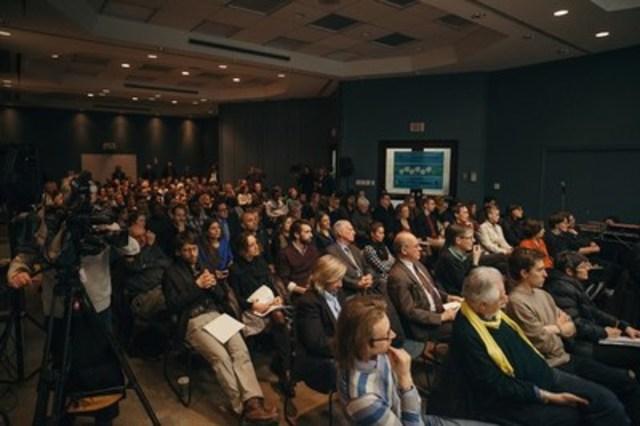 Soirée de reprise de la consultation publique de l'OCPM. (Groupe CNW/Office de consultation publique de Montréal)