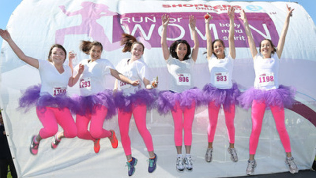 Ottawa supports the Shoppers Drug Mart Run For Women. (CNW Group/Shoppers Drug Mart Corporation)