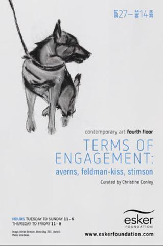 Adrian Stimson, Bomb Dog, 2011 (detail). Photo: John Dean (CNW Group/Esker Foundation)