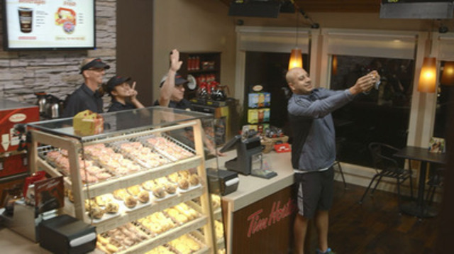Video: Tim Hortons transformed a home in Calgary overnight into The Tims Next Door to kick-off the launch of its new creative campaign in support of recruitment. The company hopes to hire more than 5,000 team members in restaurants across Canada.