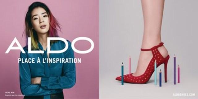 Irene Kim - Inspirée par les couleurs (Groupe CNW/Groupe ALDO)
