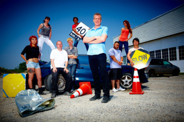 Park it! CANADA'S WORST DRIVER returns for Season 8, Oct. 29 on Discovery Channel (CNW Group/Discovery Channel)
