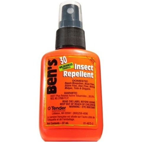 Don't get bitten - get Ben's. Maximum long lasting protection against disease carrying insects. The power of Deet. (CNW Group/Tender Corp)