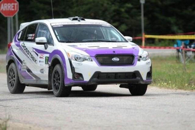 Subaru Crosstrek participe à Rallye Défi (Groupe CNW/Subaru Canada Inc.)
