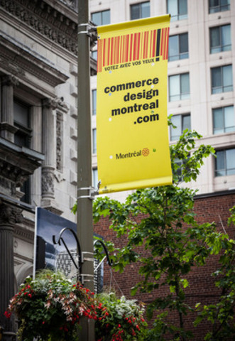 "On June 13 and 14 from 10 a.m. to 3 p.m., Montrealers are invited to discover the 20 winners of the 2015 Commerce Design Montréal Awards as part of the ""Veni. Vidi. Vote!"" weekend. (CNW Group/Ville de Montréal - Cabinet du maire et du comité exécutif)"