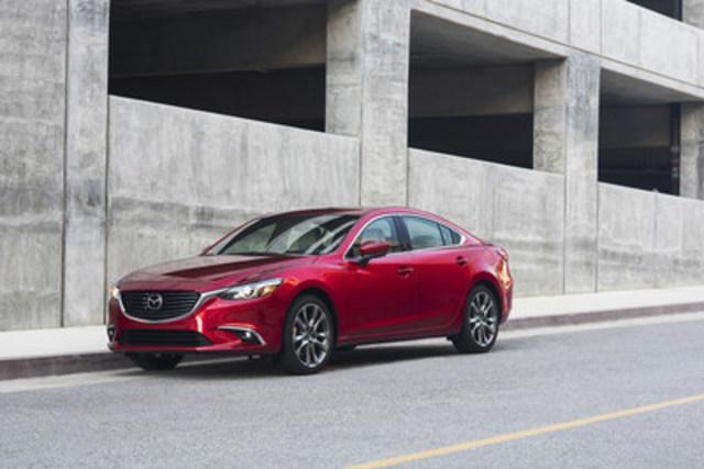 Mazda6 2017 (Groupe CNW/Mazda Canada Inc.)