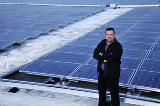 Solar Power Network launches 23,000 square feet of rooftop solar with Plaza Ontario (CNW Group/Solar Power Network)