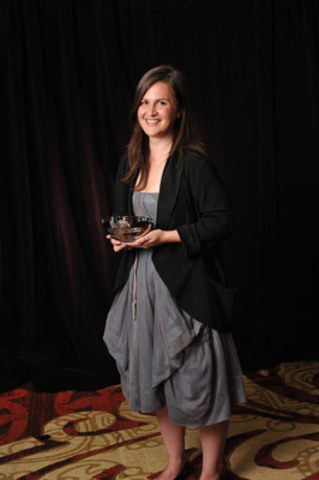 Chantelle Bellrichard was the recipient of the inaugural CJF Aboriginal Journalism Fellowship at the 17th Annual CJF Awards. (CNW Group/Canadian Journalism Foundation)