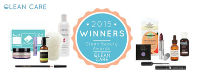 Clean Beauty Award Winners (CNW Group/Clean Care)