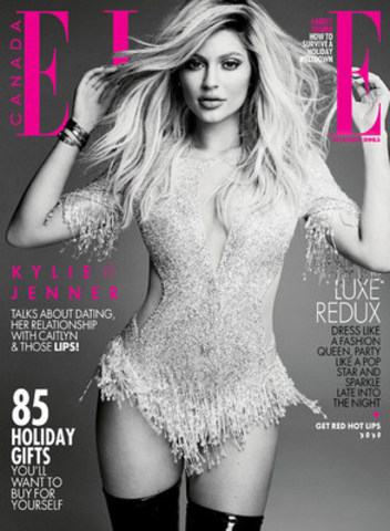 ELLE Canada Dec. Cover as selected by readers (CNW Group/ELLE Canada)