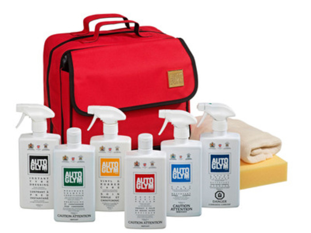 Autoglym Valet Kit - Available Exclusively at Canadian Tire ($79.99 - Limited time price for Father's Day) (CNW Group/Autoglym)