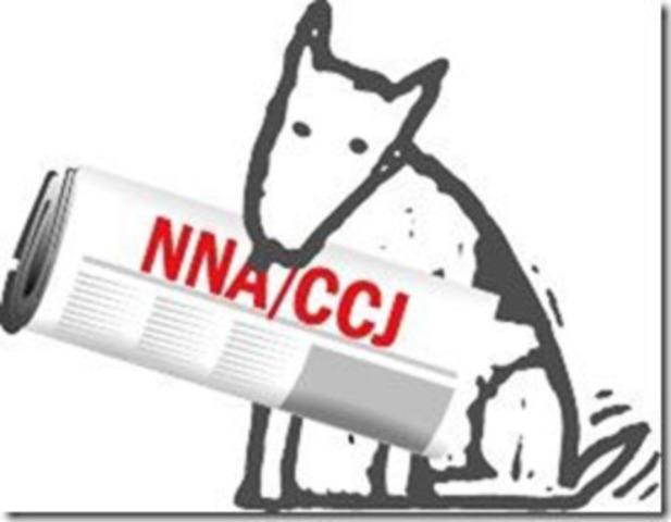 Logo CCJ (Groupe CNW/Concours canadien de journalisme)